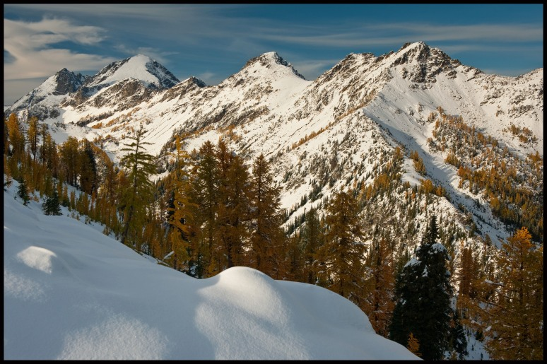 ice creek ridge to mount maude