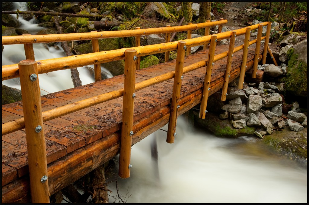 bridge over Rainy Creek